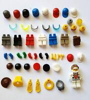 Lego Minifig Ersatzteile Zubehör 50 Teile Oberkörper Helm Haare Beine Arme 203