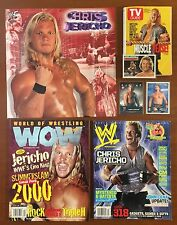 WWE Chris Jericho Lot ~ Poster Pin-Ups, Magazines, Trading Cards Y2J WWF