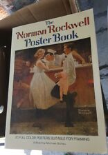 "Norman Rockwell Poster Book~20 Full Color~ HUGE 15""x11"" size~LARGE posters 1977"