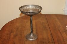 New listing Sterling Silver 235 grams Manchester Mfg Co Pierced Work Compote #0278