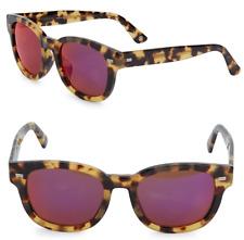 GUCCI Square Sunglasses GG 1079/S Tortoise Havana Brown Purple Lenses 00FBJ