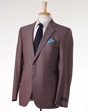 NWT $3095 ERMENEGILDO ZEGNA Lightweight 'High Performance' Wool Suit Slim 48 R