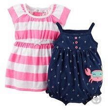Carter's   2 Piece dress and romper set  NEW & AUTHENTIC