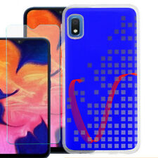 For Samsung Galaxy A10e TPU Case, Tempered Glass - Victory