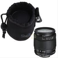 Water Resistant Neoprene Soft  DSLR Camera Lens Pouch Bag Small Backpack Case