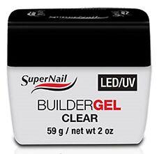 SuperNail LED/UV Builder Gel Clear - 2oz (51601)