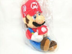 New Super Mario Galaxy Plush Super Mario Sanei 2007 Nintendo Japan