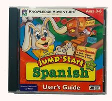 1997 Jump Start Spanish For Kids Windows,Macintosh- Ages 3-6 Very Good Condition