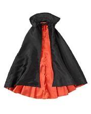 NWT GYMBOREE Black Skull Crossbones PIRATE VAMPIRE CAPE Costume Size XS-S (4-6)