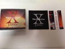 X Japan - Last Live ~Saigo no yoru~ - 3 CD Yoshiki Toshi hide Sugizo Luna Sea