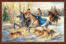 Cross stitch kit RIOLIS 1639 Russian Hunting