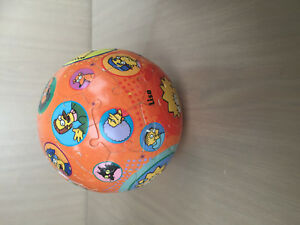 3D BALL the SIMPSONS PUZZLE rare 2007 fox studios maggie homer bart gay