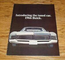 Original 1966 Buick Full Line Sales Brochure 66 Skylark Special Electra Wildcat