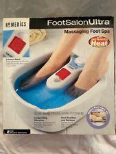 HoMedics Foot Salon Ultra Massaging Foot Spa Infrared Heat & Vibration