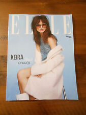 Elle UK Magazine Subscriber Cover Keira Knightley July 2014