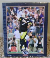 BEN ROETHLISBERGER 8 x 10 PHOTO SHRINK WRAPPED PITTSBURGH STEELERS MAN CAVE