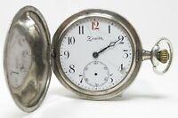 Orologio zenith grand prix pocket watch mechanic clock vintage horloge reloy
