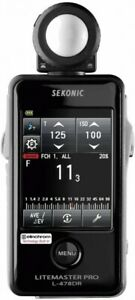 New SEKONIC Exposure Meter Light Master Pro L-478DR-EL From Japan By FedEx