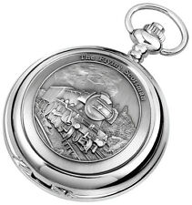 Woodford Hunter Pocket Watch Chrome Flying Scot Mechanical or Quartz 1893