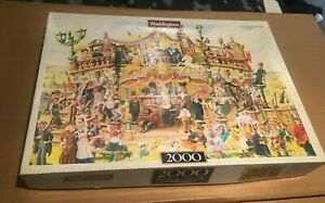 WADDINGTONS The Travelling Magistrates 2000pc JIGSAW Ex. Cond. COMPLETE