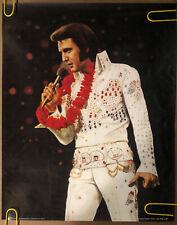 Original Vintage Poster Elvis Presley Hawaii White Suit 1986 Head Shop Pin Up