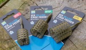 Preston ICS In Line Cage Feeder *Complete Range* NEW Coarse Fishing Feeder