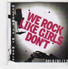 (FN147) We Rock Like Girls Don't, Welcome To My World - 2010 DJ CD