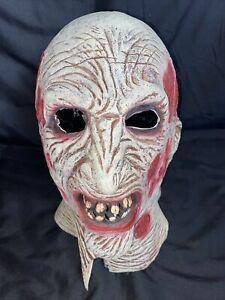 Freddy Krueger Nightmare on Elm Street Full Face Mask Horror Movie Halloween