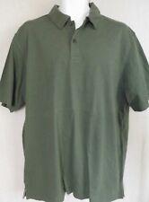 Young Men's Small Green Polo Shirt by Hyp 100% Cotton short sleeve skateboard