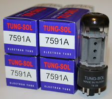 Matched Quads Tung Sol 7591A / 7591 tubes, Brand NEW in Box