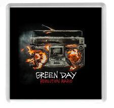 Green Day Revolution Radio coaster