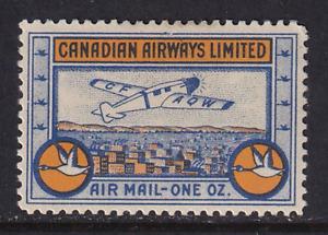 Canada 1932 Semi-Official Air Post #CL51  MH