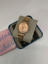 Fossil Women's Lyric Three-Hand Stainless Steel Watch ES4711 NWT