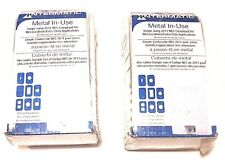 """LOT OF 2 NEW INTERMATIC, WP1010MXD METAL IN-USE RECEPTACLE COVERS 3-1/8"""" DEPTH"""