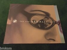MINT 2001 BUICK REGAL LS GS DEALER SALES BROCHURE ORIGINAL (BOX 482)