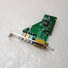 Generic C3DX HSP56 CMI8738/PCI-SX HRTF Sound Card - Tested & Operational