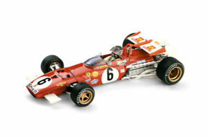 Ferrari 312B GP Italia 1970 Giunti with Driver Figure 1:43 Model R313BCH BRUMM