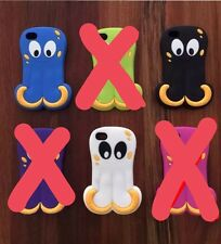 Octopus 3D Gel Soft Silicone Rubber Case Cover for iPhone 4/4S Novelty Design