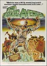 movie film repro TROMA Toxic avenger  Poster Print A3 This A Poster