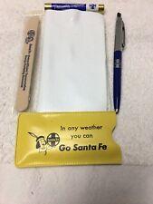 Santa Fe Railroad Welcome Passenger Gift 1972-1974 West Coast Trip