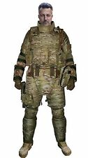 NEW set of Body Armor Gear Protection: bulletproof Tactical vest, kevlar knee el