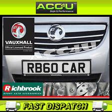 Richbrook OPEL officiel sous licence logo voiture CONTOUR PLAQUE IMMATRICULATION