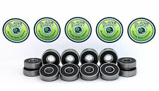 16 x TITANIO KIT ABEC 9 608rs Skateboard Scooter Skate Cuscinetti