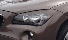 RDX Scheinwerferblenden BMW X1 E84 (-2012) Böser Blick Blenden Spoiler Tuning