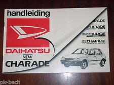 Betriebsanleitung / Handleiding / Instructieboekje Daihatsu Charade ,Stand 1986