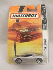 Matchbox  Sports Cars  '08 Lotus  Silver  NOC 1:64 scale  (517)  M0072
