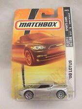 Matchbox  Sports Cars  '08 Lotus  Silver  NOC 1:64 scale  (517)  M0072