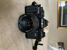 Minolta X-700 35mm Slr Film Camera black Body And 50mm lens
