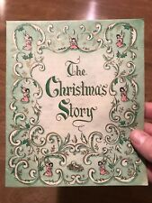 The Christmas Story Vintage Holiday Pamphlet Gibson Story Of Jesus Birth Book