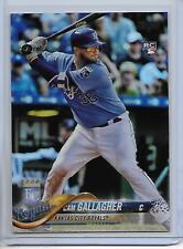 2018 Topps Cam Gallagher Foil Parallel Card